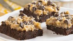 Rich German Chocolate Brownies