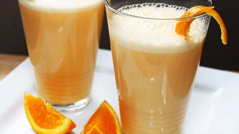 Orange-Carrot-Banana Smoothies