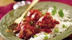 Salsa Turkey Meatballs