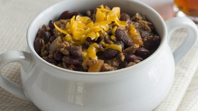 Smoky Pumpkin Beer Chili