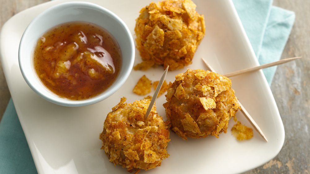 Crispy Chile Lime Turkey Cheese Balls