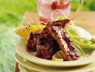 Grilled Zesty Lemon Spareribs