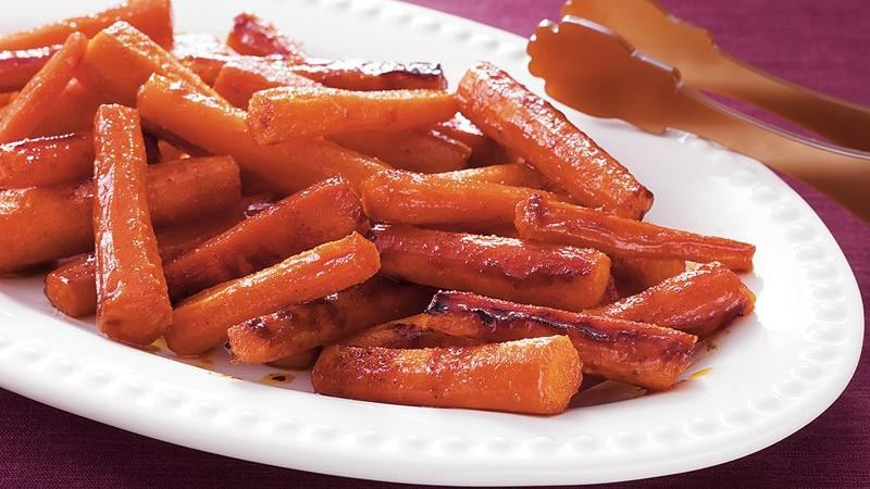 Roasted Candied Carrots