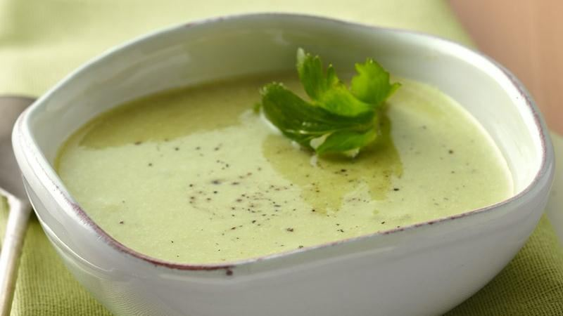 Creamy Asparagus Soup recipe from Betty Crocker
