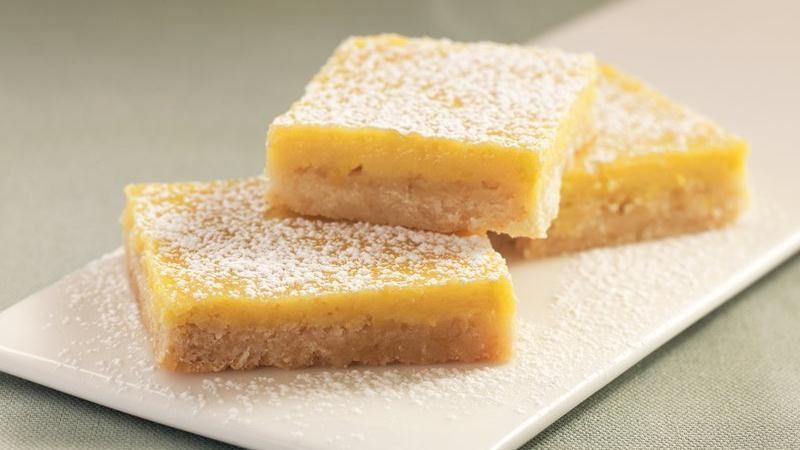 Best Lemon Bars recipe from Betty Crocker