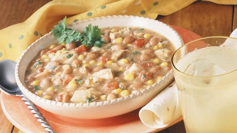 Southwestern Chicken and Bean Stew