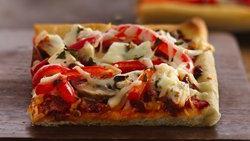 Veggie Tofu Pizza