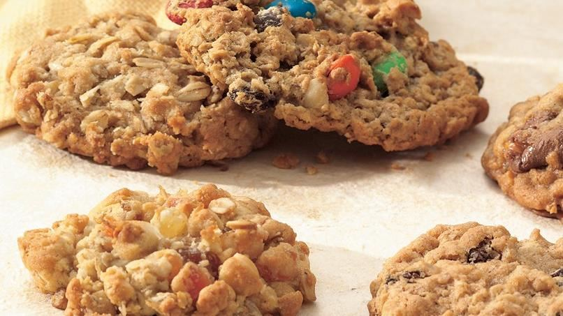 Candy Bar-Oatmeal Cookies