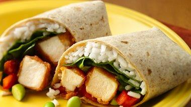 Sweet and Sour Chicken Wraps