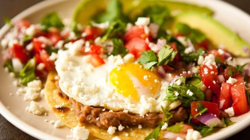 Huevos Rancheros with Pico de Gallo recipe from Betty Crocker