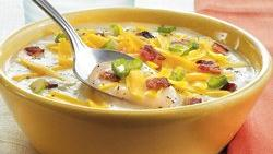 Easiest-Ever Loaded Potato Soup