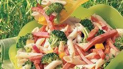 Italian Ham and Pasta Salad