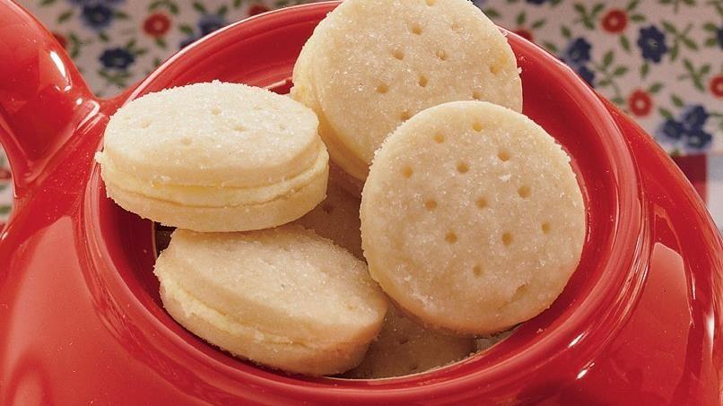 Tea-Time Lemon Sandwich Cookies