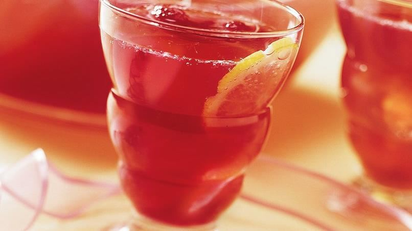 Sparkling Raspberry Lemonade (Crowd Size)