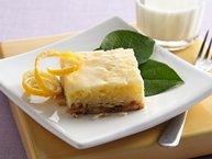 Glazed Lemon-Coconut Bars