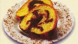 Fudge Marble Pound Cake