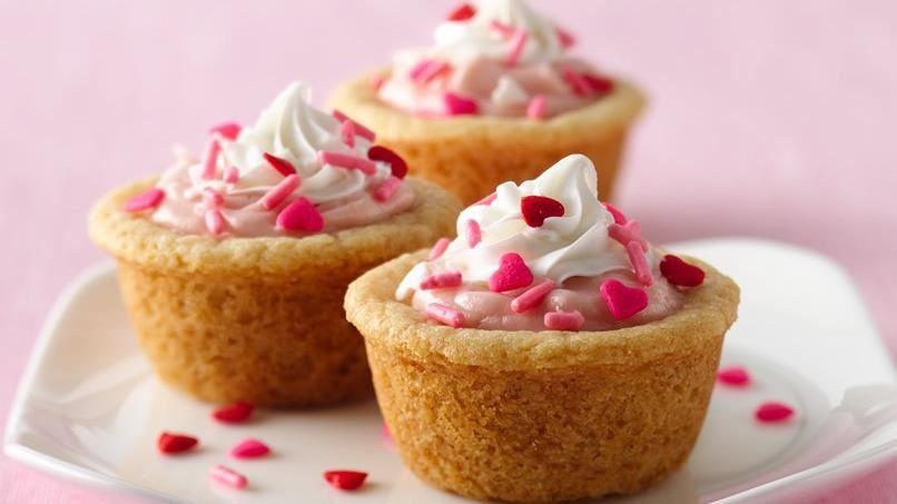 Strawberry Cream Cheese Cookie Tarts