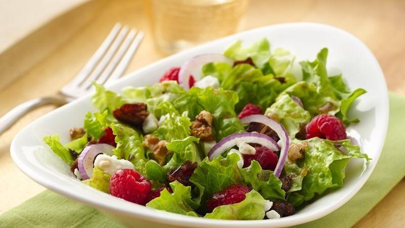 Spring Raspberry Salad