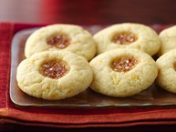 Citrus-Kissed Fig Thumbprints