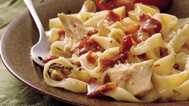 Chicken Fettuccine Casserole