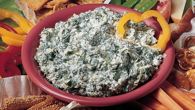 Savory Spinach Dip
