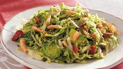 Shredded Brussels Sprouts Sauté