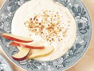 Ginger Dip with Apples and Pears