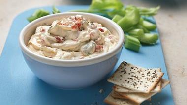 Roasted Bell Pepper Dip
