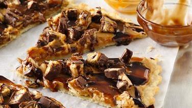 Peanut Butter-Candy Tart