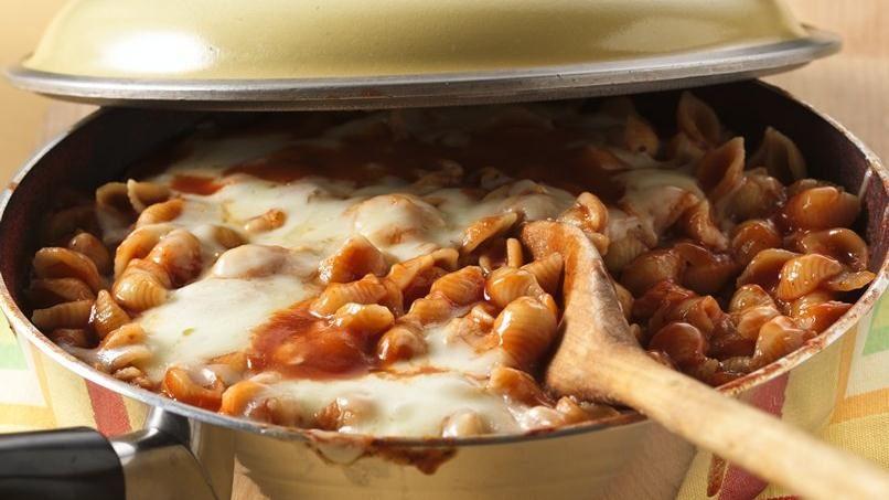 Guisado de Pasta, Tomate y Queso