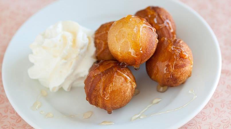 Honey Doughnut Holes