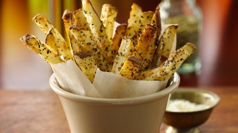 Baked Basil Fries