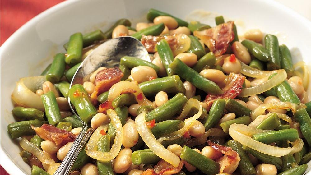 Tangy Beans and Bacon