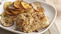 Skinny Almond-Crusted Fish