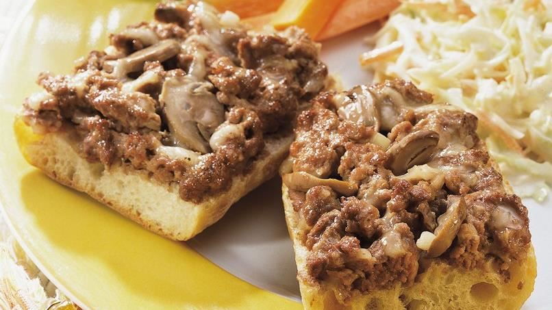 Beef and Mushroom Melts
