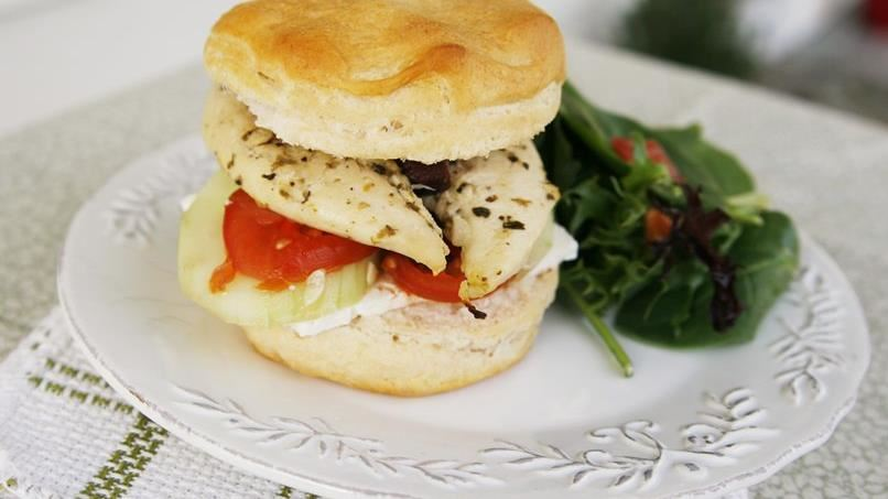 Big Greek Chicken Sliders