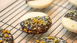 Crispy Quinoa Shortbread Cookies