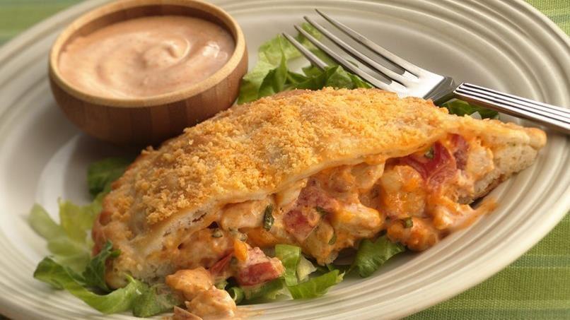 Taco-Ranch-Chicken Sandwiches