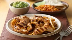 Grilled Chicken Fajitas