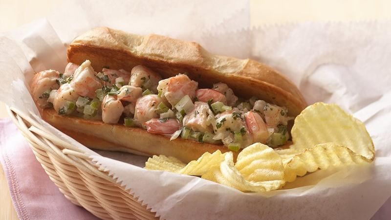 New England-Style Shrimp Rolls with Lemon-Herb Mayonnaise