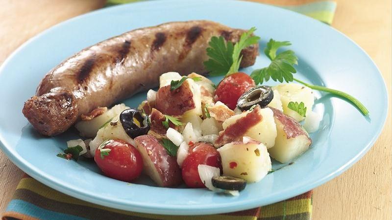 Mediterranean Potato Salad