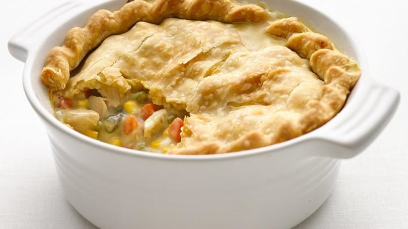 Healthified Chicken Pot Pie