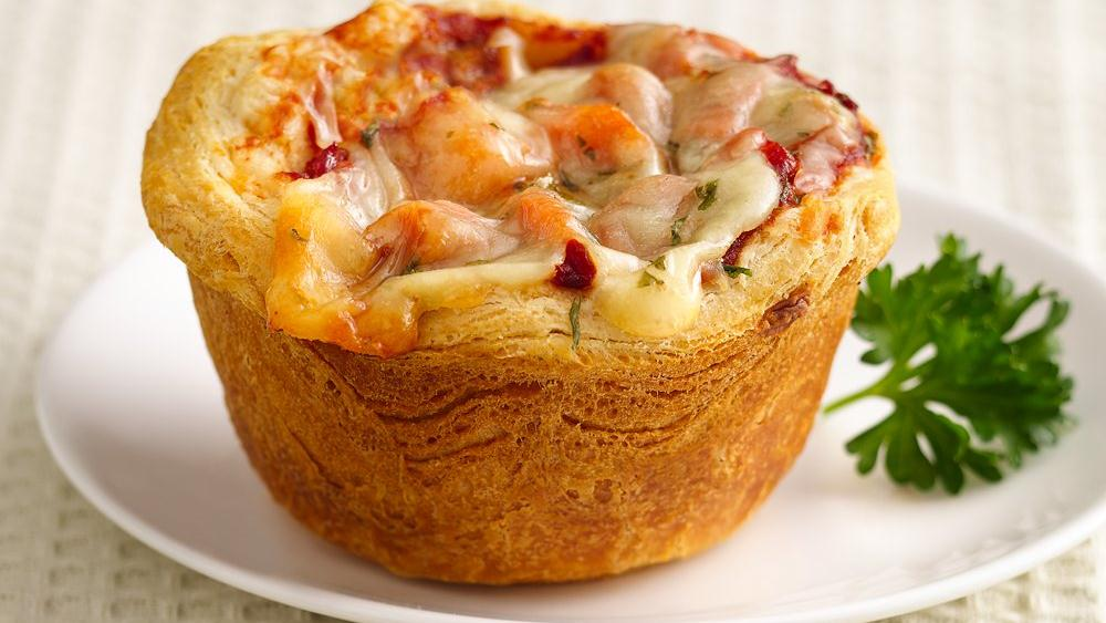 Four Cheese-Veggie Lasagna Cups