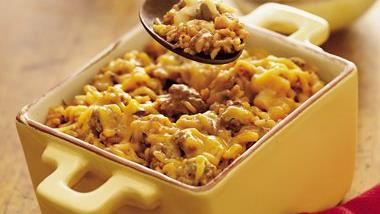 Wild Rice and Beef Casserole