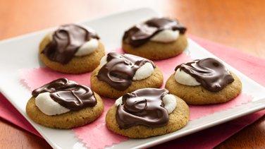 S'more Thumbprint Cookies