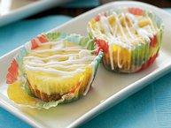 Lemon-White Chocolate Cheesecake Bites