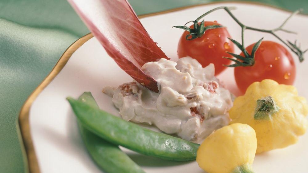 Asiago and Sun-Dried Tomato Dip
