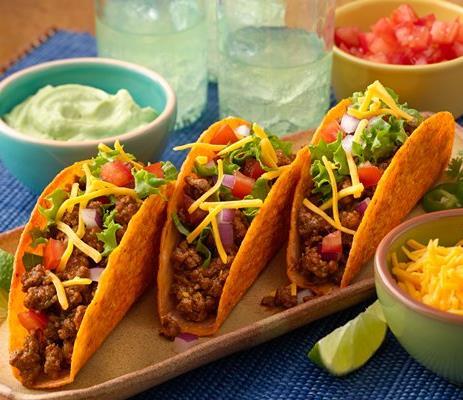 Bold Nacho Ten Minute Tacos