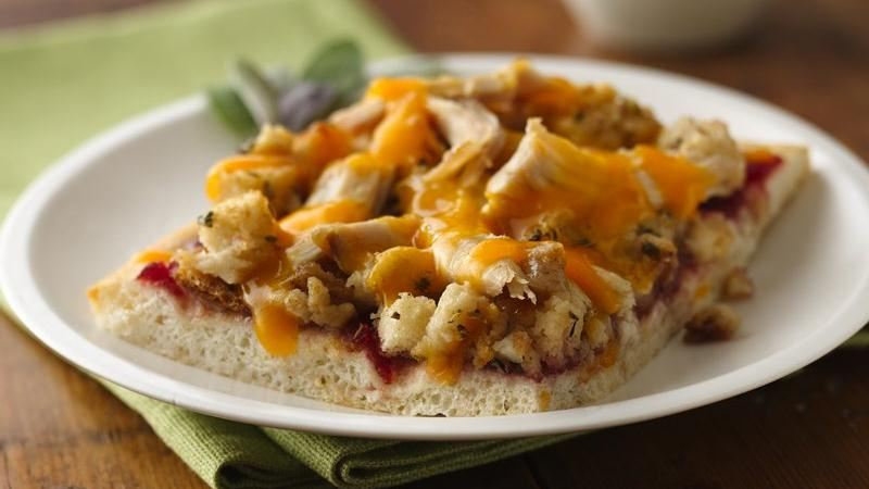 Turkey Dinner Pizza
