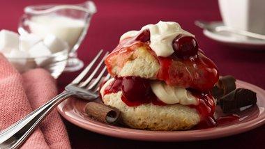 Cherry Valentine Shortcakes (club store pack)